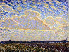 Landschap nabij Montfoort - Leo Gestel (1881 - 1941)