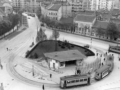 Széll Kálmán tér - 1940 History Photos, Budapest Hungary, Good Old, Old Pictures, Historical Photos, Vintage Photos, Travel Destinations, The Past, Landscape