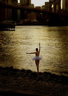 ballet ~ You can dance anywhere...even if only in your heart.