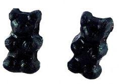 Ourson noir réglisse
