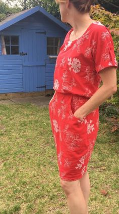 Antonia's Bettine dress - sewing pattern by Tilly and the Buttons