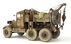 The Modelling News: Build Guide Pt III: Andy's scale IBG Models Scammell Pioneer ready to serve. The Modelling News, British Uniforms, Weathered Paint, Truck Scales, Jerry Can, Truck Art, Military Diorama, Metal Panels, Armored Vehicles