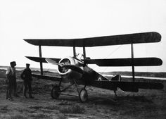ROYAL NAVAL AIR SERVICE RNAS 1914-1918 (HU 67826)   Sopwith Triplane, N5431, of C Squadron, No. 2 (Naval) Wing, on the ground at Mudros. N5431 was the only Triplane to serve overseas with the RNAS, and accounted for five enemy machines in the Aegean theatre in 1917, while flown by Flight Sub-lieutenant H T Mellings.