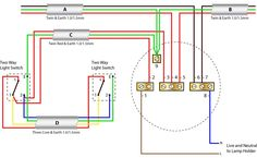 Typical house wiring diagram Electrical Concepts Pinterest Diagram