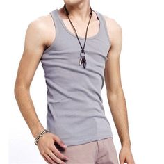 >> Click to Buy << Fashion New Summer Men Sleeveless T-shirt Casual Vest Bodybuilding Stringers Tank Tops Basic Shirt Clothing Male High Quality #Affiliate