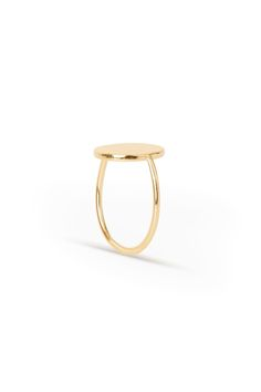 Weekday Dangle Ring in Gold