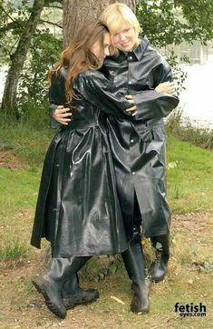 Black Raincoat, Pvc Raincoat, Hooded Raincoat, Rubber Dress, Rubber Raincoats, Country Wear, Rain Gear, Raincoats For Women, Rain