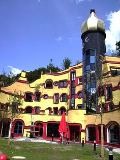 The McDonald's Kinderhilfe Foundation. Moving To Germany, Friedensreich Hundertwasser, North Rhine Westphalia, Most Romantic Places, Heart Of Europe, Largest Countries, Central Europe, Berlin Germany, Gaudi
