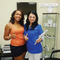 This is what is all about - smiley faces, results and progress!  At fit and Trim we live for those moments where you see that your hard work is paying off.  Call us TODAY and make your appointment, the next smiley face could be yours!  954.200.7744 | http://www.fitandtrimhealth.com?utm_content=buffer57d30&utm_medium=social&utm_source=pinterest.com&utm_campaign=buffer  #ft #fitandtrim #fitness #fitfam #fit #weightloss #eatclean #nutrition #health #healthy #getfit #wellness #fitlife #workout…