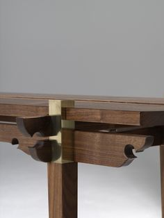 Custom Made Walnut Console Table