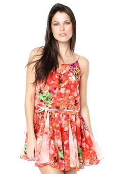 Vestido Pink Connection Delicate Vermelho - Compre Agora | Dafiti Brasil