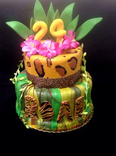 Katy Perry - ROAR Katy Perry Birthday, 10th Birthday, Birthday Ideas, Birthday Parties, Birthday Cake, Jungle Cake, Jungle Party, Party Fun, Party Ideas
