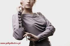Patrón gratis blusa con puños de brazalete