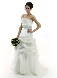Illusion Bridals - BALL GOWN- STRAPLESS - SWEEP TRAIN - 94901 , $205.00 (http://www.illusionbridals.com/ball-gown-strapless-sweep-train-94901/)