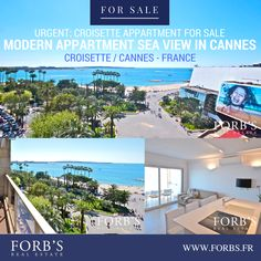 URGENT - APPARTMENT IN CANNES CRIOSETTE FOR SALE Beautiful sea view with 3 bedrooms. Property Number: A154 CONTACT: +33(0)493-39-39-39 OR go to the link in the bio! @forbsrealestate #forbsrealestate #RealEstate #cannesrealestate#realestatefrance #croisetterealestate #Realtor #Realty #Broker #ForSale#NewHome #HouseHunting #MillionDollarListing#HomeSale #HomesForSale #Property #Properties#Investment #Home #Housing #Listing #france #croisette #frenchriviera #cannes