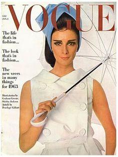 wilhelmina cooper | us vogue jan 1963 by irving penn