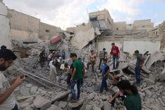 50 civils tués dans des bombardements à Alep