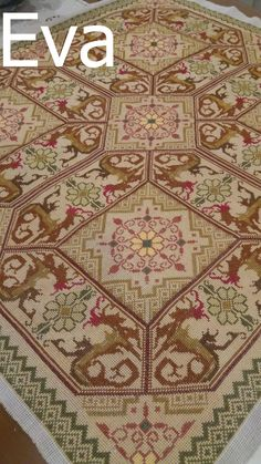Ava, Cross Stitch Patterns, Bohemian Rug, Diy Crafts, Rugs, My Love, Farmhouse Rugs, Punto De Cruz, Dots