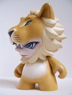 Munnyworld Customs: Lion by @thepumpkintide on Behance