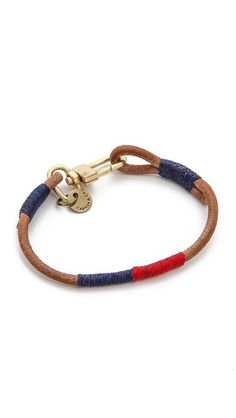 Caputo & Co.   Nautical Colorblock Bracelet #caputoandco #bracelet See related items on Fanatic Leather Store.