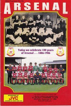 Arsenal Football, Arsenal Fc, Football Memorabilia, Eden Hazard, Football Program, Old Trafford, Southampton, Cover Pages, Psg