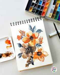 Let's go back to mindless painting for a minute coz I missed doing this kind #dreweuropeo #calligrafikas #grafikas #watercolor #expressivepainting #loosepainting #grafikaflora Paper: Ilahui Sketchbook Brush: Art Secret 22RQ mop no 1 Paint: St....
