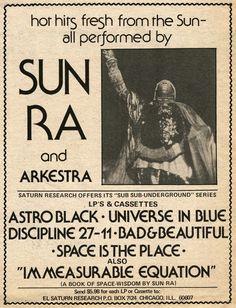 hot hits... - (sun ra)(arkestra)(saturn research)(mail order)(magazine ad)