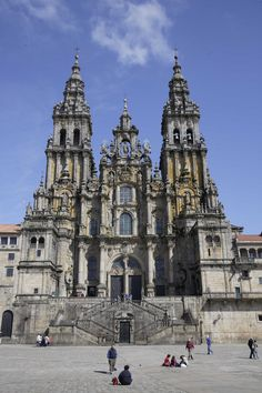 Catedral Santiago de Compostela, La Coruña, Galicia, España