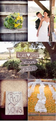 A rustic ranch affair.