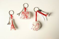 love these key rings from MIKOdesign
