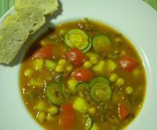 Rezept Gemüsesuppe mit Kichererbsen von chris-tiane - Rezept der Kategorie Suppen