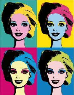 Barbie en la cultura pop / El retrato que realizó Andy Warhol en 1985