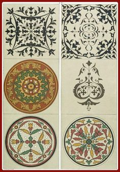 Medieval Russian patterns