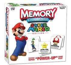 Super Mario Memory Game Only $7.99! (reg. $14.99)