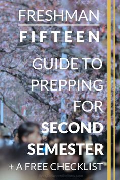 Prepare for your second semester of college with a free checklist of essential tasks.