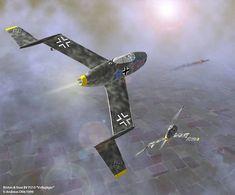 Messerschmitt Me 163 B Komet (Ottawa): Maquetland.com :: The world of the model