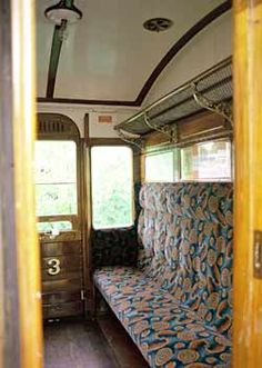 Passenger Compartment On  British Railway Carriage. We used to travel on trains…