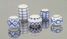 Meagan Lily Lampwork More Dots and Lines 2014