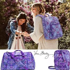 #VeraBradley #LilacTapestry oh so pretty!  #WalkOnWaterBoutiques