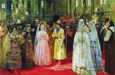 Ghosts of Imperial Russia: Land of the Czars: Photo Ilya Repin, Wedding Painting, Grand Duke, Oil Painting For Sale, Imperial Russia, Art Database, Russian Art, State Art, Art Gallery
