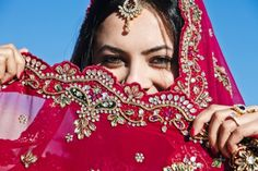 #Indian #culture #red