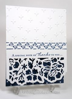 Heart's Delight Cards: Floral Boutique Suite, Stampin' Up! 2016 catalog
