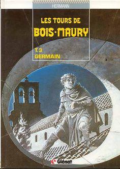 Les tours de Bois-Maury -3- Germain  -  1986