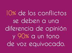 Los conflictos...