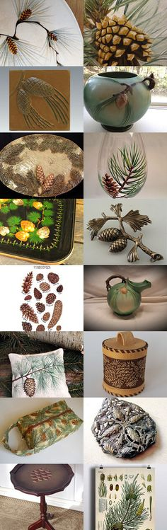 The Pine Tree's Work of Art by Lisa B Meyers on Etsy--Pinned+with+TreasuryPin.com