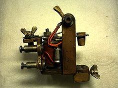 Old Danish Tattoo Machine from the sixtieths
