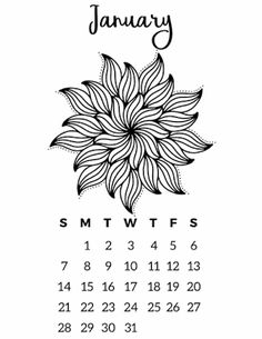 free printable calendars to colour