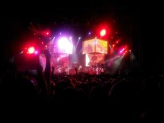Concert in Wroclaw, Poland 5/6/2014. It was f awesomee #linkinpark #concert