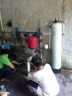 pemasangan filter air Dr.Toya