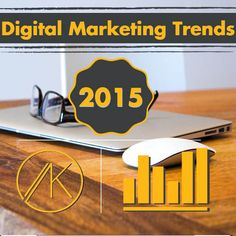 #Digital #Marketing #Trends 2015 #Infographic